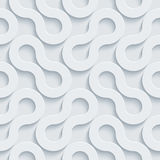 White perforated paper. stock photography