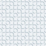 White perforated paper. Stock Images