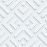 White perforated paper. Royalty Free Stock Photo