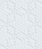 White perforated paper. Royalty Free Stock Images