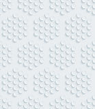 White perforated paper. Stock Image