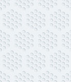 White perforated paper. Royalty Free Stock Photography