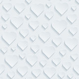 White perforated paper. Royalty Free Stock Image