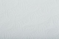 White perforated paper texture or background Stock Photo