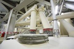 White pes in Caparol factory Stock Photo