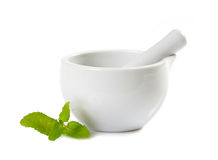 White pestle Stock Photo