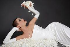 White petals Stock Photo