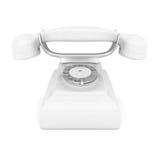 White phone Stock Image