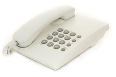 White phone Stock Photo