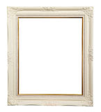 White photo frame Stock Photography
