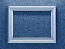 White Photo Frame. Royalty Free Stock Photos