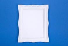 White photo frame Royalty Free Stock Photos
