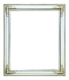 White photo image frame isolated Royalty Free Stock Images