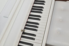 White piano Stock Photography