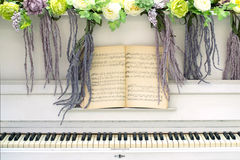White piano Stock Photo