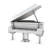 White piano Stock Photos