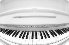 White piano Royalty Free Stock Image