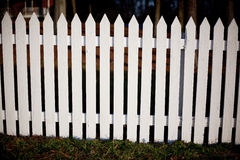Free White Picket Fence Stock Photography - 7970132