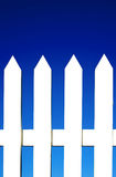White Picket Fence Background Royalty Free Stock Images