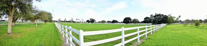 White Picket Fence Royalty Free Stock Photos