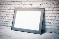 White picture frame Stock Photography