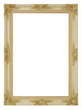 White picture frame Royalty Free Stock Images