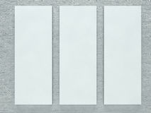 White picture frame Royalty Free Stock Image