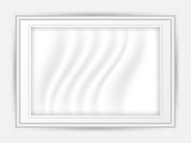 White picture frame vector design illustration Royalty Free Stock Image