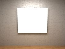 White pictures in a room Stock Images