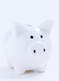 White piggy bank Royalty Free Stock Images