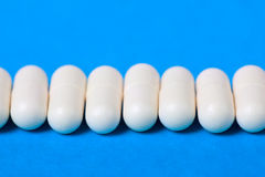 White pill Stock Photography