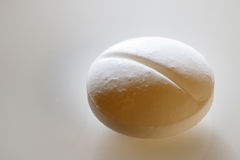White pill macro Royalty Free Stock Photo