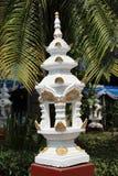 White pillar decoration Stock Photo