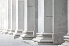White pillar stock images