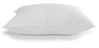 White pillow. Feather pillow isolated over white background Stock Photo