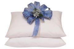 White pillow. Royalty Free Stock Photos