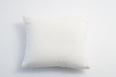 White pillow. Isolated on white background Stock Images