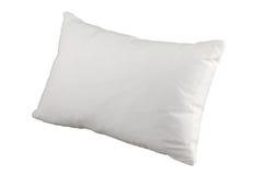 White pillow. Hygiene white pillow for better sleep Royalty Free Stock Image