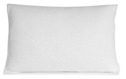 White pillow. Royalty Free Stock Photo