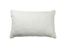 White pillow royalty free stock photo
