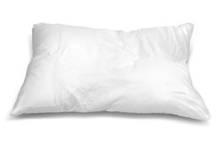 White pillow Royalty Free Stock Image