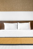 White pillow bedroom Royalty Free Stock Photography