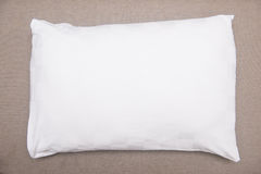 White pillow on sofa Royalty Free Stock Image