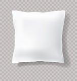 White pillow trans Royalty Free Stock Image