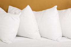 White pillows Royalty Free Stock Photo