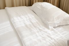White pillows Royalty Free Stock Photography