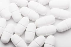 White pills Royalty Free Stock Photo