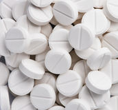 White pills Stock Photography