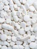 White pills Royalty Free Stock Photos