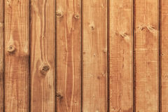 White Pine Knotted Planks Hut Wall Surface Stock Photography